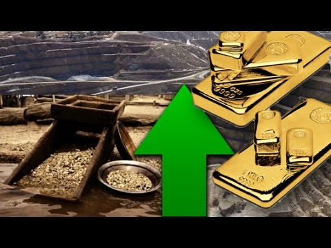 Gold Mining Stocks Rise! WIll Gold Prices Rise Too?