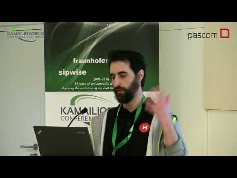 Kamailio World 2016 - Workshop - Analyzing SIP Traffic With Homer Sipcapture