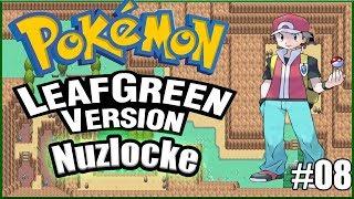 Pokemon Leaf Green NUZLOCKE #08 - Sting Like A Bee!