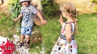 ЛИЗА и ГАРРИ ГАЛКИНЫ: Лиза спасает муравьев!