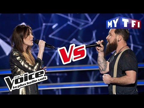 Will Barber VS Delaurentis –« Thank You » (Alanis Morissette) | The Voice France 2017 | Battle