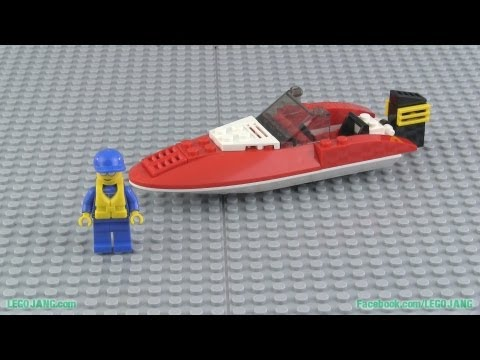 LEGO City 4641 Speed Boat build & review! - YouTube