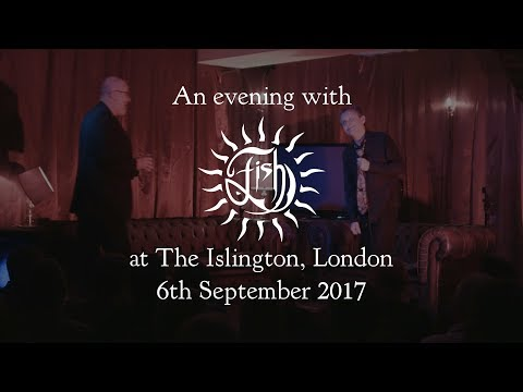 An Evening With FISH At The Islington (Part 1)