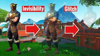 Invisibility OP Fortnite Glitch Season 8!! How To Become Fully Invisible 2019!!