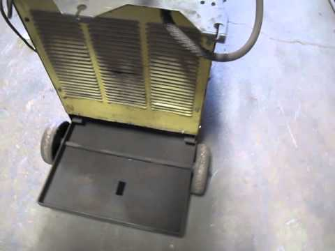 HOBART MEGA-MIG 450 RVS & 2410 WIRE FEEDER 230/460V 3 PHASE 450 AMPS ...