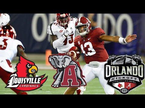 Alabama Highlights vs Louisville | 2018 Camping World Kickoff | NCAA Football Week 1