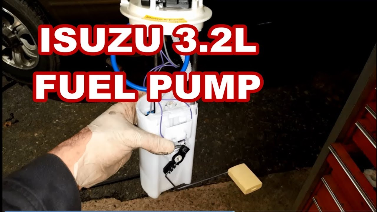 Fuel Pump Replacement Isuzu Rodeo How To Replace Module Sending Wiring Diagram Unit 2000 2001 2002 2003 Change