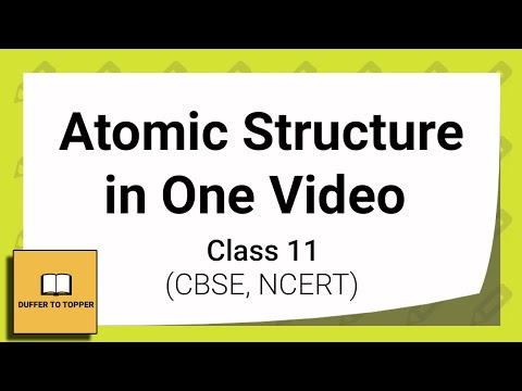 class 11 chemistry Atomic structure in just 40 minutes full chapter explanation
