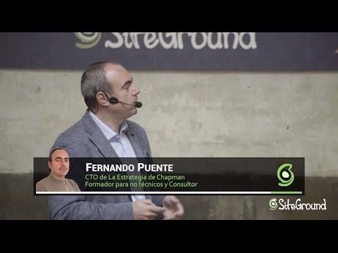 "Fernando Puente : ""Pilares WPO"" - Fabuloso Madrid: A Marketing Event by SiteGround"