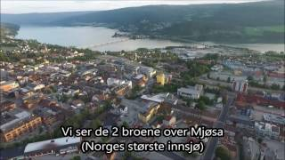 Lillehammer fra lufta