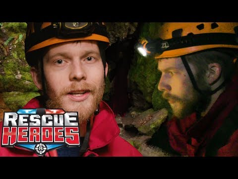 Cave Rescue - Real Rescue Heroes | Rescue Heroes™ | Videos For Kids | Rangers | Fisher-Price