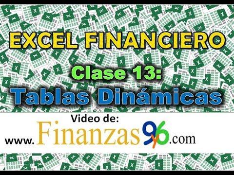 Tablas dinámicas en 9 minutos - Excel Financiero - Clase 13