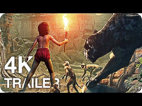 THE JUNGLE BOOK All Trailers & Videos 4K...