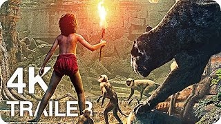 THE JUNGLE BOOK All Trailers & Videos 4K UHD (2016) Disney Movie