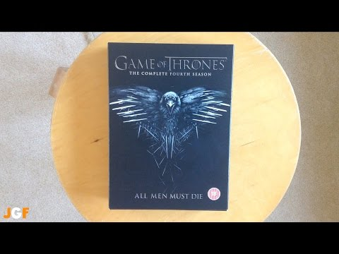 Game Of Thrones Season 4 Unboxing