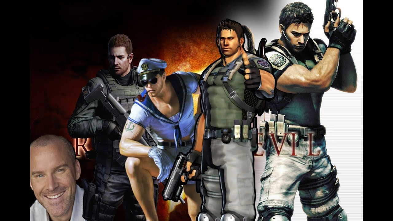 Roger Craig Smith S Evolution As Chris Redfield 2009 2017 Youtube
