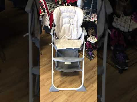 Graco Slim Fold High Chair Transfer From Bed To Snacker Youtube