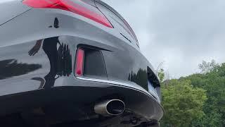 Honda Accord V6 Borla Axleback Exhaust (Before and After)