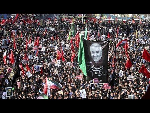 По меньшей мере 35 человек погибли в результате давки на похоронах Сулеймани в Иране - гос ТВ…