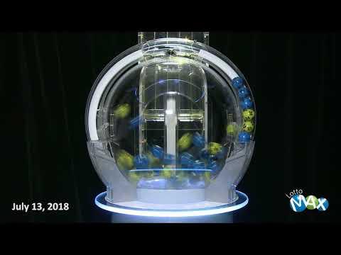 Lotto Max Draw, July 13, 2018