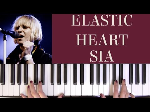 HOW TO PLAY: ELASTIC HEART - SIA