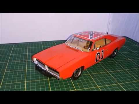 Unboxing And Review Of A 1:18 General Lee, By Auto World Authentics