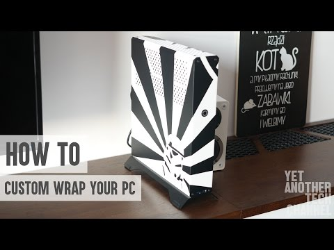 How to make custom decals for your PC case