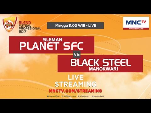 Planet SFC VS Black Steel (FT : 1-4) - Blend Futsal Profesional 2017