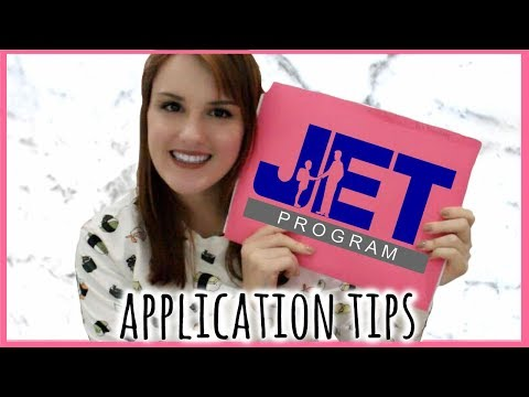 JET Programme : Application Tips