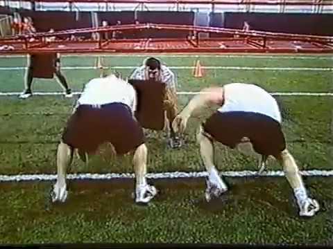 2008 Maryland O Line Drills part 2
