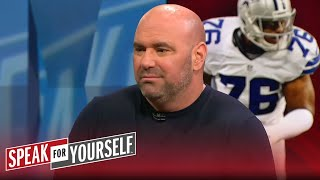Whitlock 1-on-1: Dana White on Greg Hardy fighting in the UFC | SPEAK FOR YOURSELF
