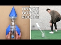 Dry Ice Bottle Rocket