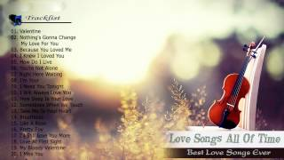 Top 100 romantic love songs of all time Playlist - Best Love songs 80