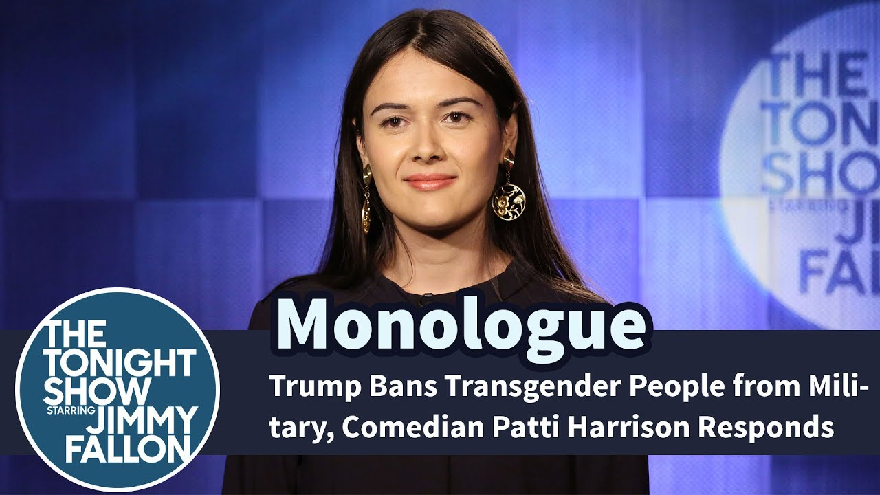 Trump Bans Transgender People from Military, Comedian Patti Harrison Responds