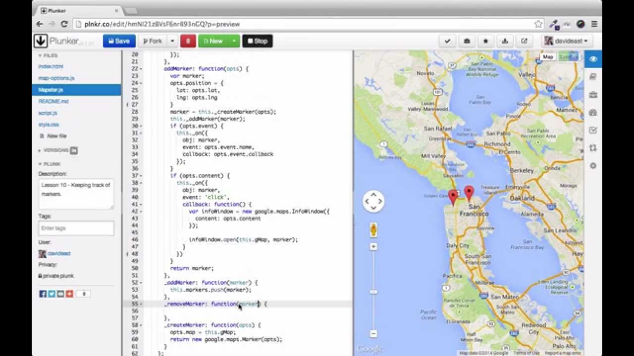 Custom interactive maps with the google maps api 10 keeping track of custom interactive maps with the google maps api 10 keeping track of map markers gumiabroncs