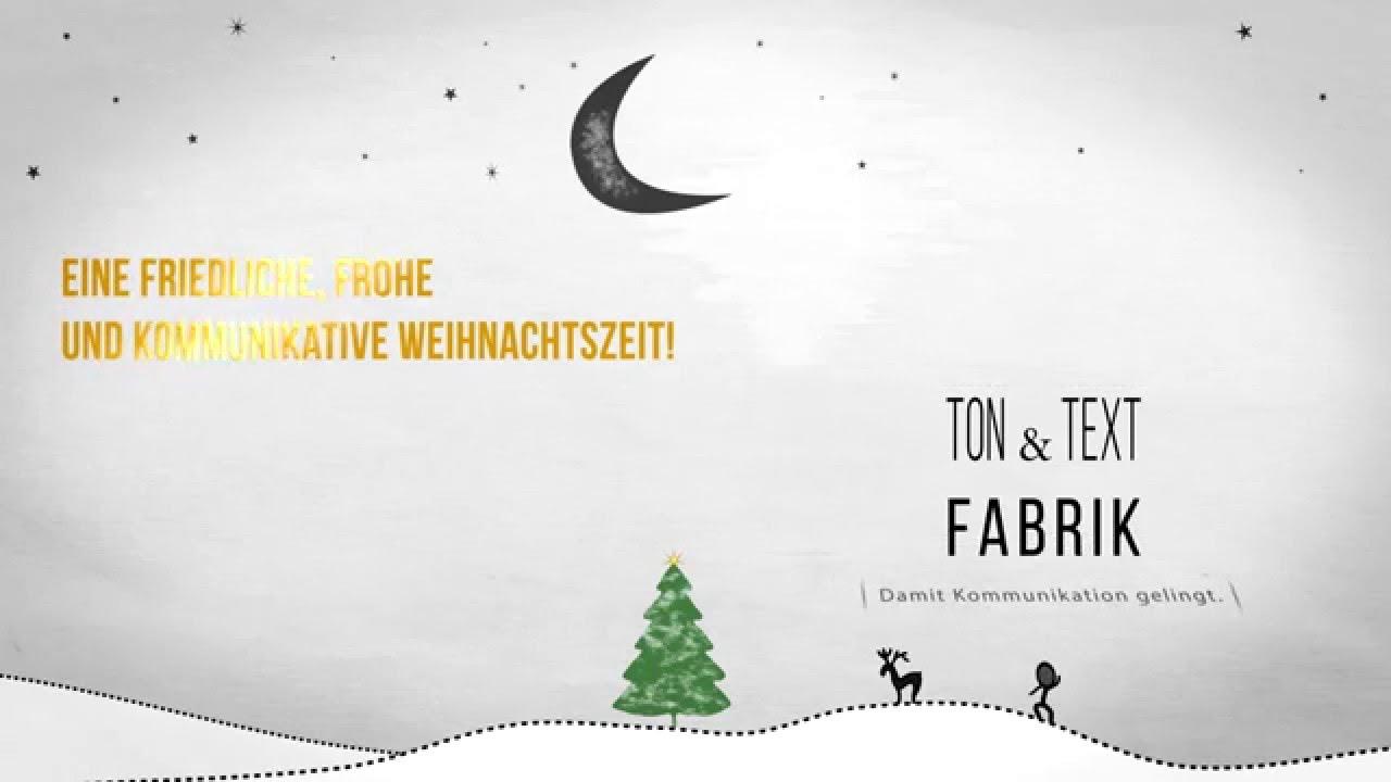 weihnachtsw nsche aus der ton und text fabrik youtube