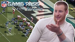 The Mindset in the Red Zone with Carson Wentz | NFL Film Sessions