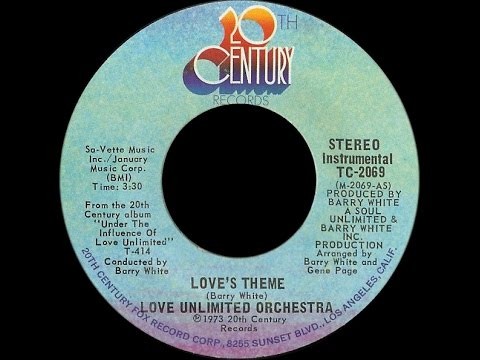 Love Unlimited Orchestra ~ Love's Theme 1973 Disco Purrfecti