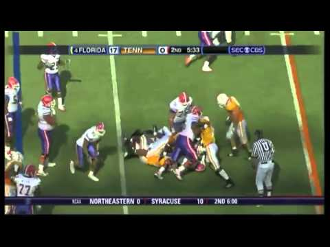 2008 #4 Florida Gators vs. Tennessee Volunteers