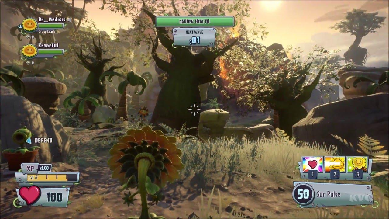 Plants vs Zombies: Garden Warfare 2 - Garden Ops   Boney Island ...