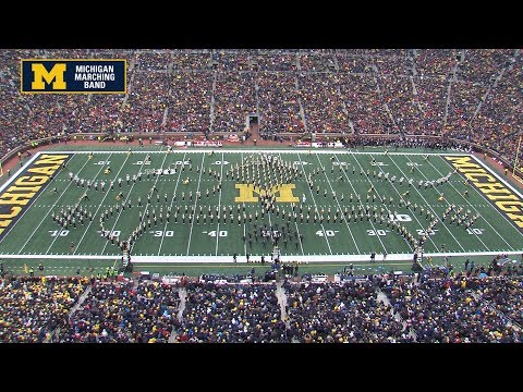 """Welcome To The Roaring 20's!"" - November 30, 2019 (HC) - The Michigan Marching Band"
