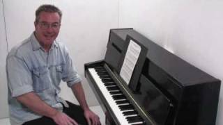 Chopin Prelude No.1 Tutorial - Paul Barton, piano
