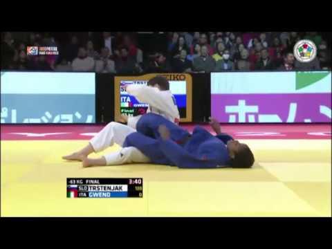 Judo Grand Slam Tokyo 2014 Final -63kg TRSTENJAK Tina (SLO) vs. GWEND Edwige (ITA)
