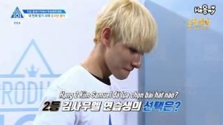 [VIETSUB] Nghiệt duyên giữa Park Jihoon và Kim Samuel @ PRODUCE 101 Season 2 EP 6