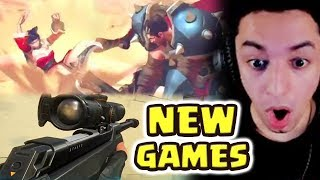 Nightblue3 Reacts to NEW League FPS, MMO, ANIME, FIGHTING GAME, SEASON 10 LoL, MOBILE LoL, CARD GAME