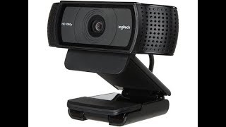 Logitech C920 WebCam Review. Great Video and Great Quality
