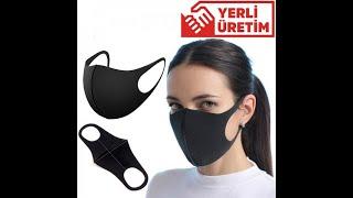 Yıkanabilir koruyucu maske incelemesi evdekal Turkiye