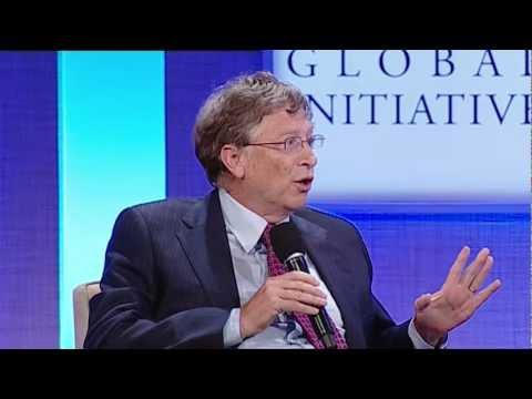CGI Annual Meeting Closing Conversation: President Bill Clinton and Bill Gates