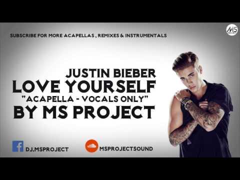 Justin Bieber - Love Yourself (Acapella - Vocals Only) + DL