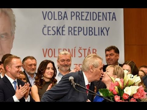 27.1.2018 - MILOŠ ZEMAN OPĚT ZVOLEN PREZIDENTEM - první reakce